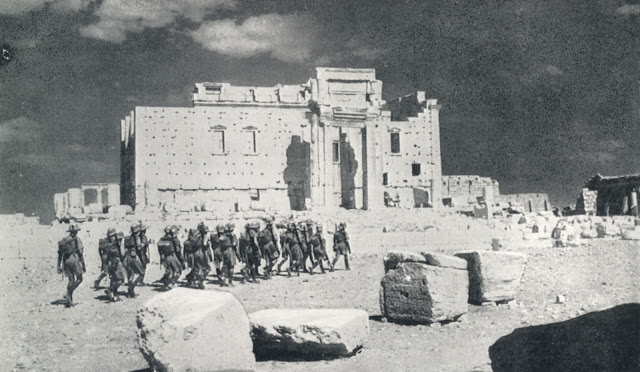 British troops in Palmyra 1 July 1941 worldwartwo.filminspector.com