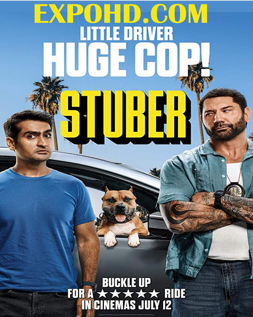Stuber 2019 Full Movie Download 720p | 1080p | HDRip x265