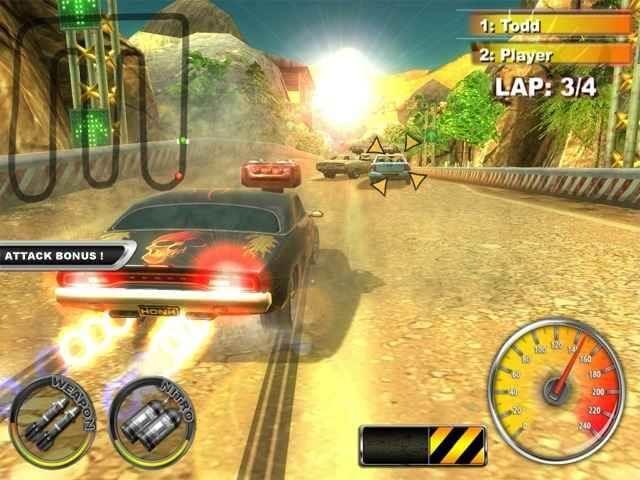 لعبة Lethal Brutal Racing