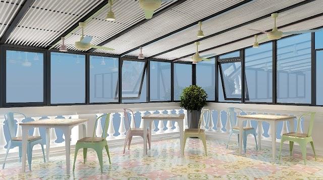 Cải tạo Roof top làm tăng không gian phục vụ tiện ích