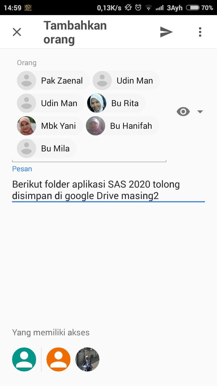 Cara Instalasi Aplikasi SAS 2020 dan pengisian RPD tahun 2020