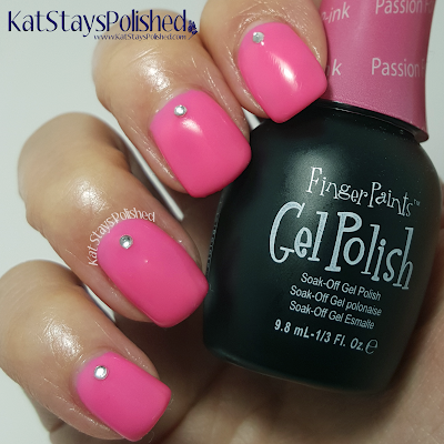 FingerPaints Gel Polish - Passion for P-ink | Kat Stays Polished