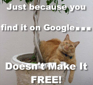 Just Because You Found it On Google Doesn't Make It Free for Website and SEO