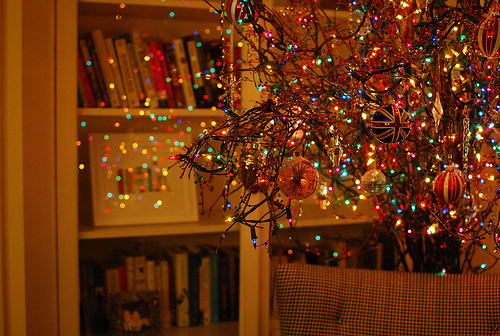 Christmas tree decoration dp images