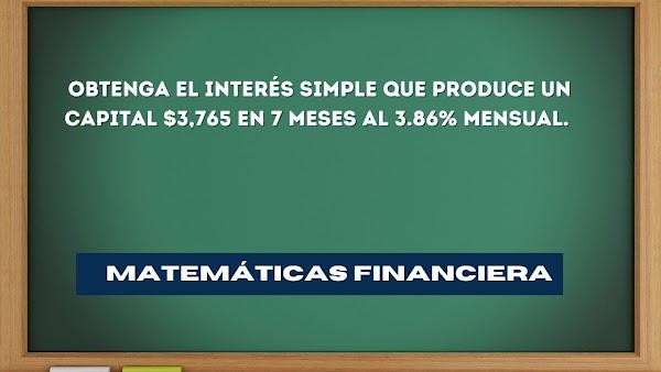 ✅ Matemáticas financieras EJERCICIOS RESUELTOS de interés simple N°2