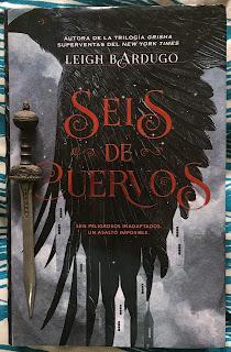 Portada del libro Seis de cuervos, de Leigh Bardugo