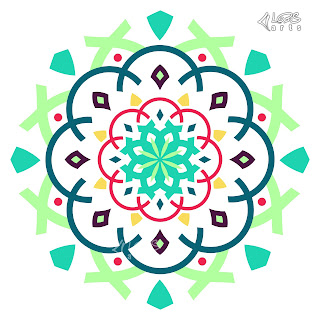 MModern Islamic & Arabic Mandala Vector Pattern