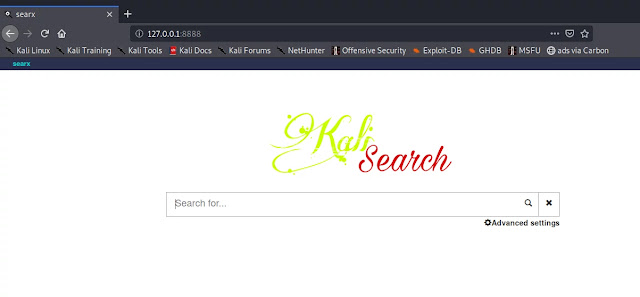 customised private search engine