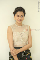 Taapsee Pannu in transparent top at Anando hma theatrical trailer launch ~  Exclusive 082.JPG