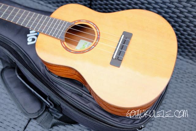 Uluru Sedera III tenor ukulele body