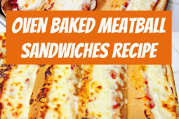 Easy Dinner Idea: Oven Baked Meatball Sandwiches Recipe #dinner #dinnerideas #Sandwiches