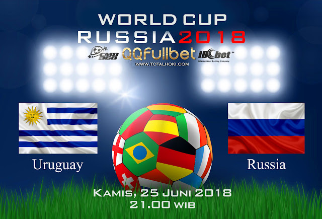 BOLA88 - PREDIKSI BOLA PIALA DUNIA : RUSSIA VS URUGUAY 25 JUNI 2018 ( RUSSIA WORLD CUP 2018 )