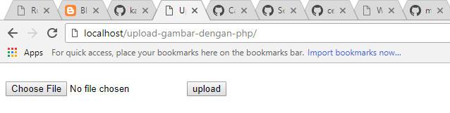 upload gambar dengan PHP
