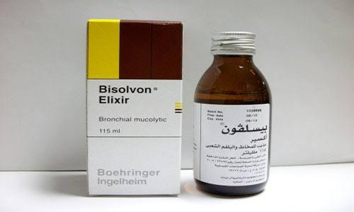 سعر ودواعي استعمال دواء بيسلفون Bisolvon مذيب للبلغم