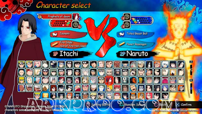 Download Game Naruto PSP PPSSPP ISO + Save Data Android Terbaru