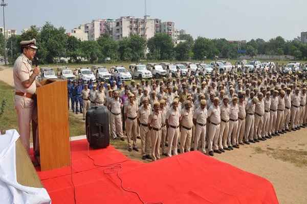 faridabad-police-prepare-security-for-happy-new-year-2020-news