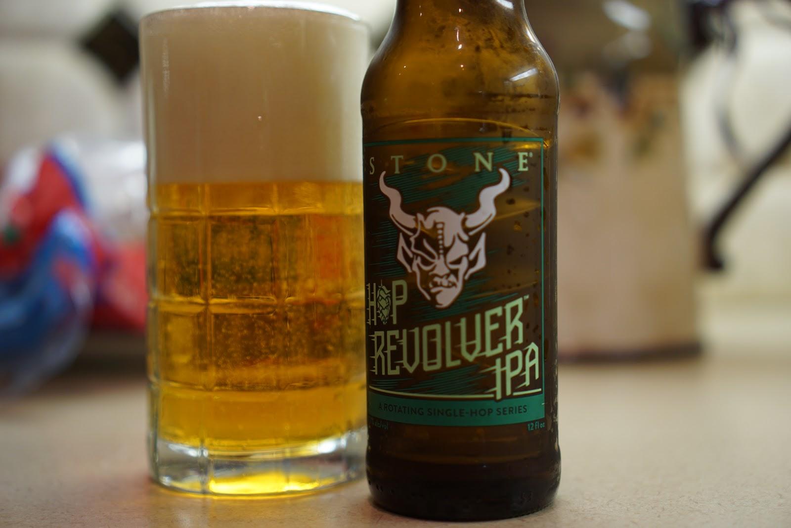 AoM: Beer et al : Stone Hop Revolver IPA - Mandarina Bavaria