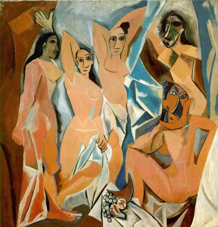 Пикассо «Авиньонские девицы»