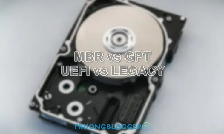 UEFI và LEGACY là gì? Các chế độ boot của Bios