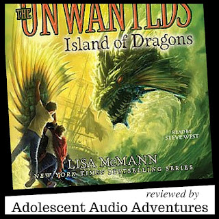 Adolescent Audio Adventures reviews Unwanteds #7 Island of Dragons
