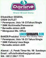 Lowongan Kerja Surabaya di Darline Bakeria Agustus 2020