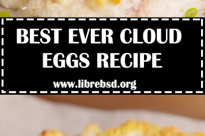 BEST CLOUD EGGS RECIPE - HOW TO MAKE CLOUD EGGS