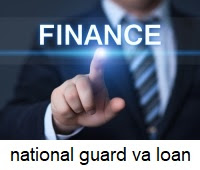 national guard va home loan