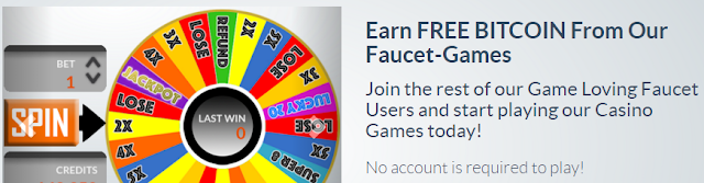 Get paid FREE Bitcoin playing games at FaucetGame