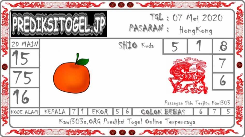Prediksi Togel Hongkong 07 Mei 2020 - Prediksi Kawi303