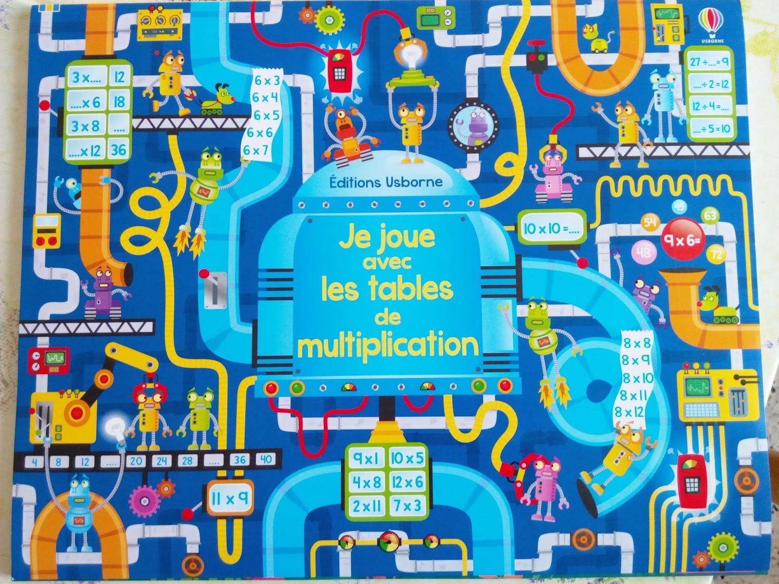 Ma tribu de jumeaux apprendre les multiplications tout for Apprendre table multiplication en jouant