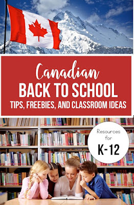 This resource is FULL of great back to school tips from Canadian teachers.