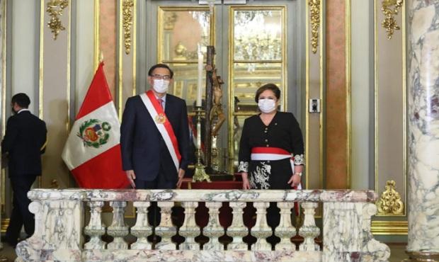 Rosario Sasieta es la nueva ministra de la Mujer y Poblaciones Vulnerables