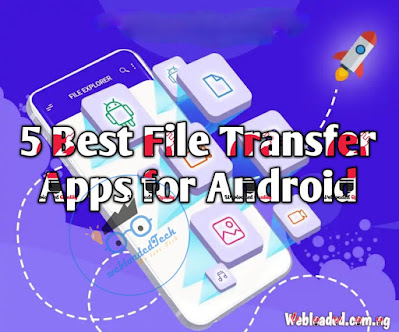 5 Best File Transfer Apps for Android