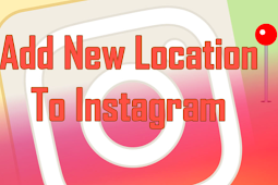 Add new Location to Instagram
