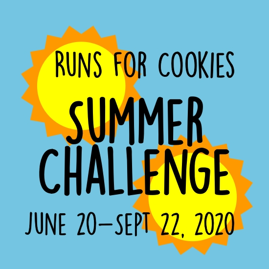 Runs for Cookies Summer Run/Walk Challenge 2020