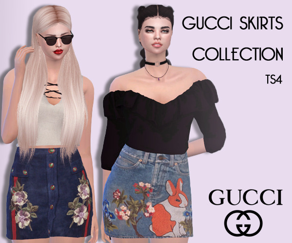 Sims 4 Cc 39 S The Best Gucci Skirts Collection By