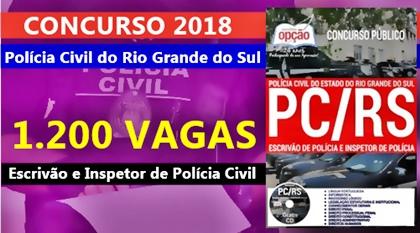 Apostila Concurso Polícia do Civil do Rio Grande do Sul - PC-RS 2018