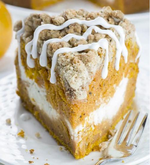 Pumpkin Coffee Cake #desserts #cakes #coffee #pumpkin #pie