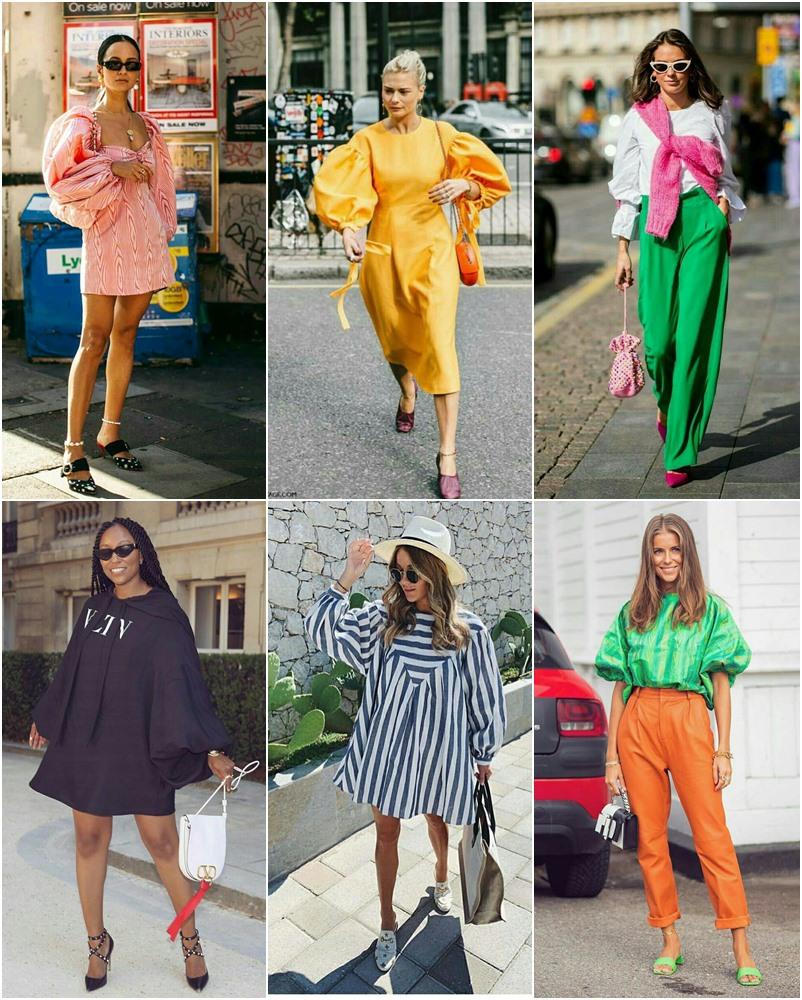 21 looks de fashionistas usando mangas bufantes
