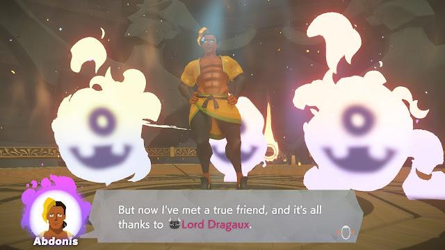 Ring Fit Adventure Abdonis true friend Six Park Lord Dragaux