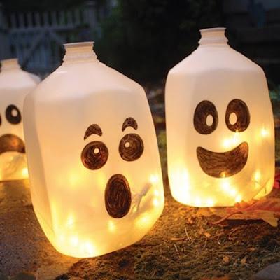 Lamparas de fantasmas con galones