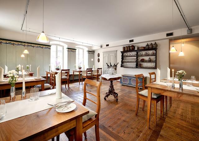 Gastraum des Restaurants im Meisenheimer Hof.