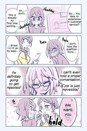 More Social Anxiety Vs Yuri Manga