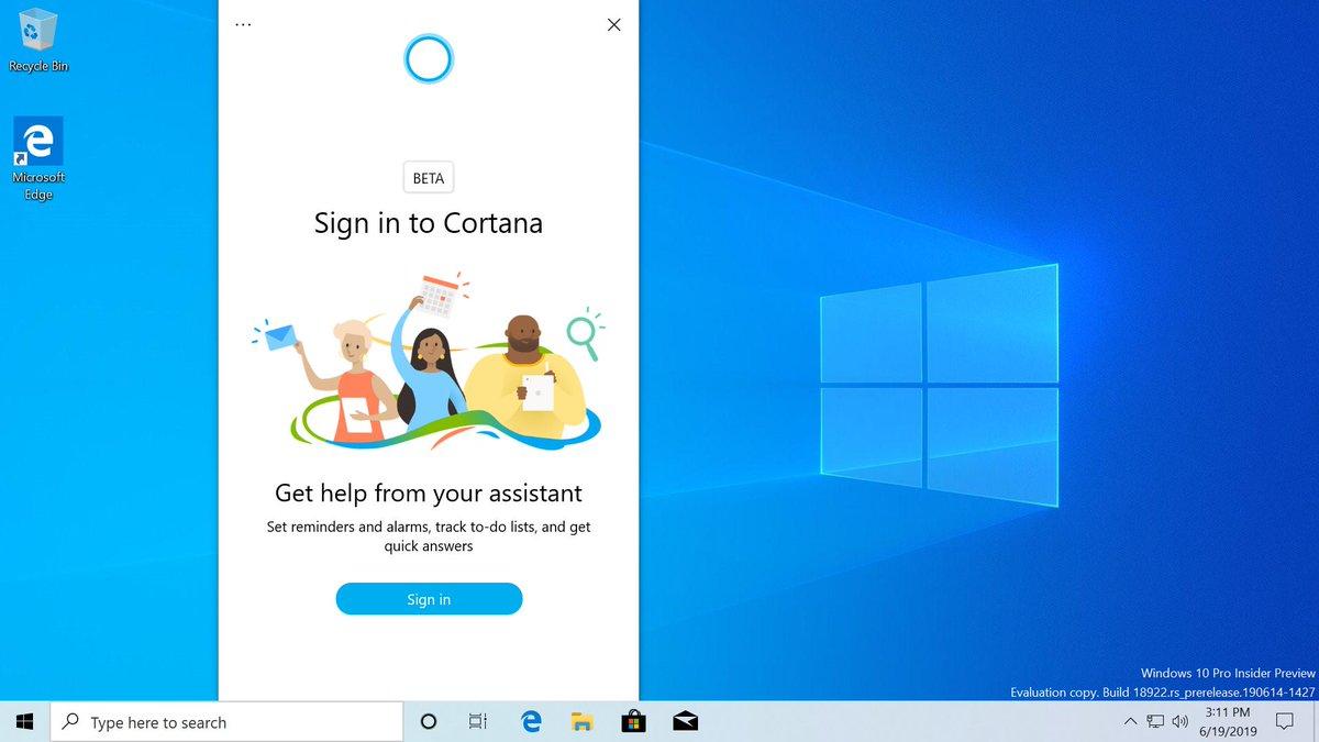 Microsoft-Cortana-Windows-10-20H1