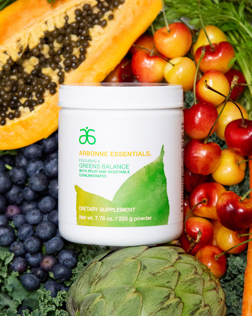 Eat a rainbow made easy - Arbonne's Greens Balance