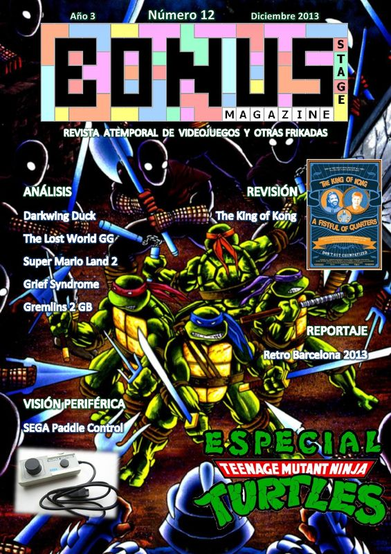 Bonus Stage Magazine #12 Especial Teenage Mutant Turtles (12)