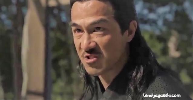 Joe Taslim as Gurutai : Film The Swordsman 2020