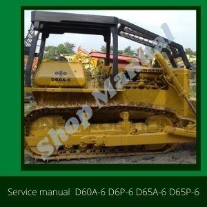 D60A-6 D6P-6 D65A-6 D65P-6
