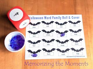 Free Word Family Literacy Activity