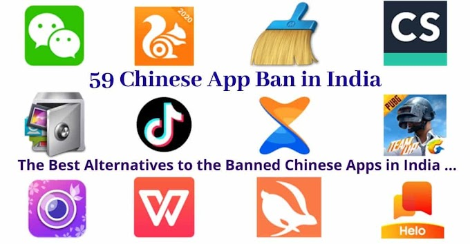 Indian government banned these chinese apps / Here are some great indian alternatives apps